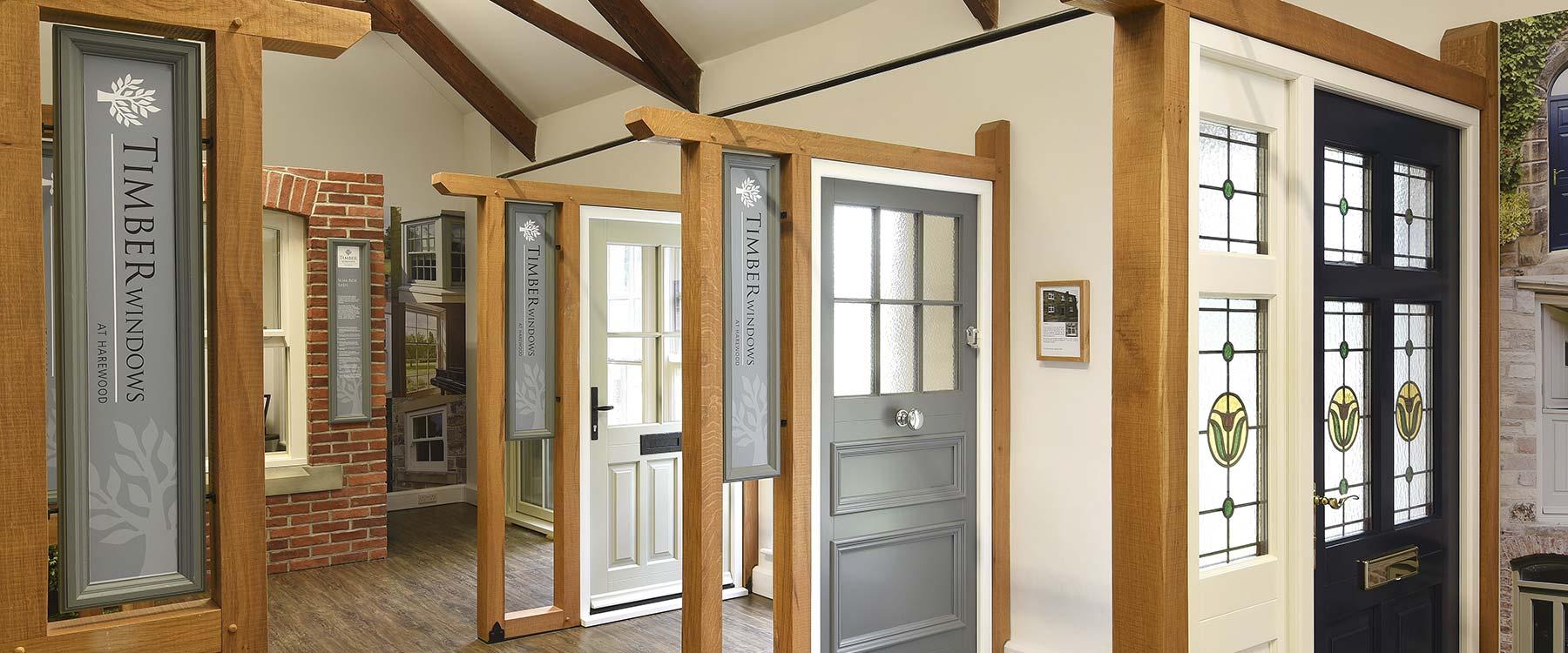 Yorkshire Timber Windows showroom