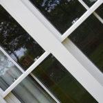 white wooden sash windows