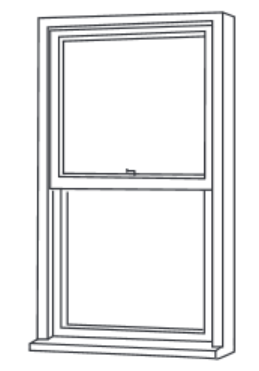 verticle sash window